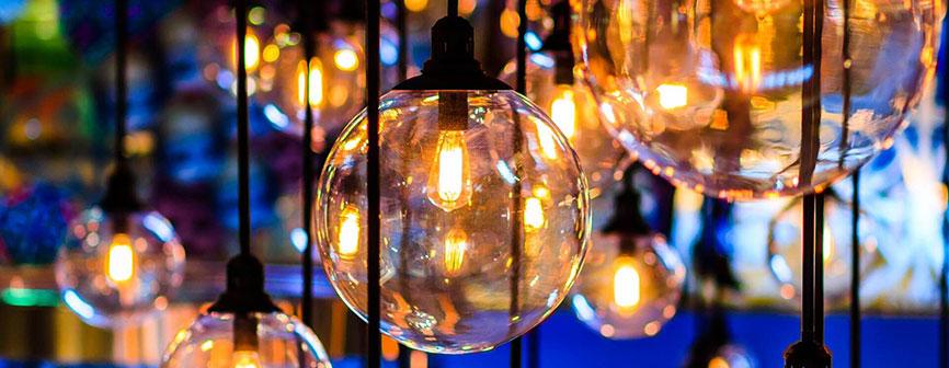 iluminación para ciudad